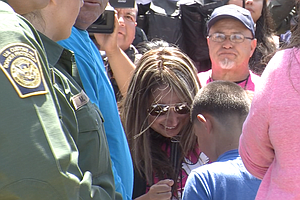 Families Reunite At San Diego-Tijuana Border As Door Open...