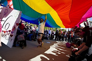 After Historic Arguments, Court To Rule On Same-Sex Marri...
