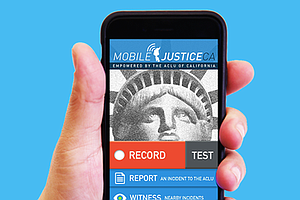 How ACLU Mobile Justice Smartphone App Will Work In San D...