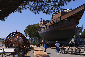 Replica San Salvador Ship Nears Completion