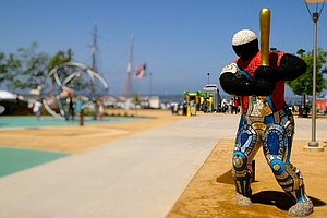 French Sculptures Unveiled At San Diego County Administra...