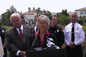 San Diego County Officials Mark One Year Since May 2014 W...