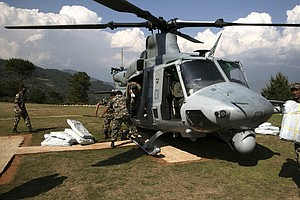 Tease photo for Camp Pendleton Helicopter Remains Missing In Nepal