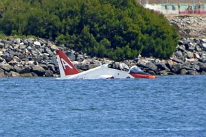 Tease photo for Plane Taking Off From Coronado Navy Base Crashes In Bay