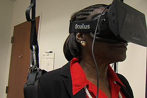 Tease photo for In Virtual Reality, San Diego Scientist Sees Tool To Help The Visually Impaired