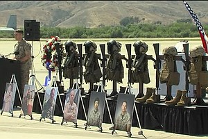 Tease photo for Camp Pendleton Remembers Marines Killed In Nepal