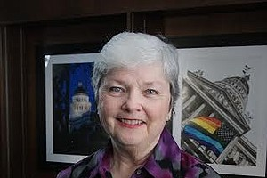 Tease photo for LGBT Pride Month Local Hero Christine Kehoe Improves Quality of Life for San Diegans