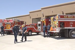 New Fire Station Opens In San Diego County's Boulevard