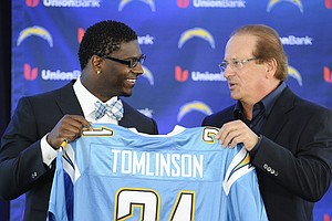 Tease photo for Chargers To Induct LaDainian Tomlinson Into Hall Of Fame