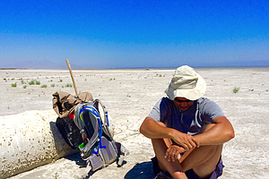 Tease photo for Personal Challenge To Hike Salton Sea Turns Into Environmental Mission