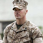 A jury of three enlisted men and three officers returned a guilty verdict Wednesday against  Marine Sgt. Lawrence Hutchins III  for a second time for the killing of the 52-year-old Iraqi policeman in the village of Hamdania.