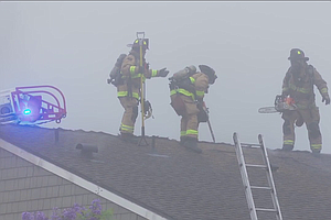 Tease photo for Fire At Mission Valley Apartment Building Displaces 7 People