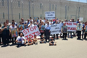Tease photo for Activists Call For Release Of Chaldeans Held In Otay Mesa Facility