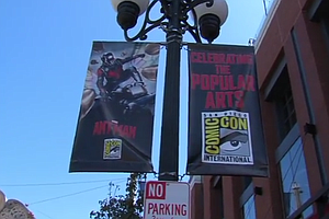 Downtown San Diego Businesses Gear Up For Comic-Con