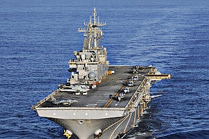 Tease photo for Sailor Aboard San Diego-Based USS Essex Dies