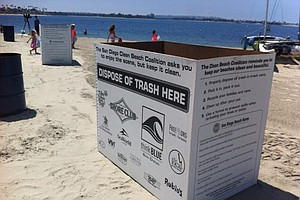 Tease photo for San Diego Prepares For Onslaught Of Holiday Beach Trash