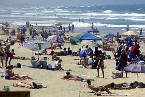 Tease photo for 500,000 People Flock To San Diego-Area Beaches During Fourth Of July