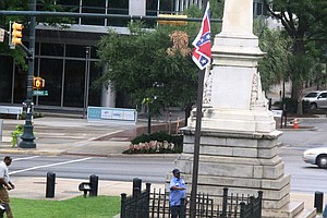 Confederate Flag Sparks Discussion About Controversial Sy...