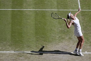 Tease photo for Rancho Santa Fe's Coco Vandeweghe Loses To Maria Sharapova