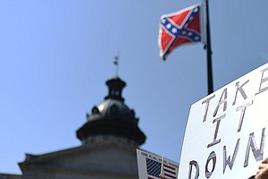 Tease photo for Confederate Flag Comes Down In South Carolina