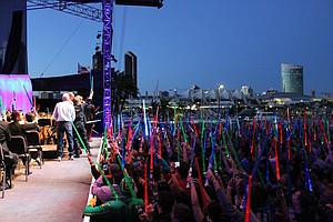 Behind The Scenes At The Symphony's Surprise Star Wars Concert