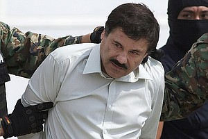 Tease photo for Escape By Top Drug Lord A Strong Blow To Mexico's Government