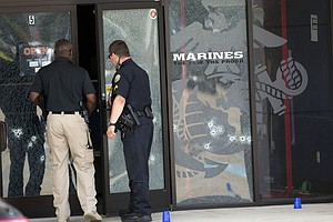 Tease photo for Official: 4 Marines Killed In Military Attacks In Tennessee