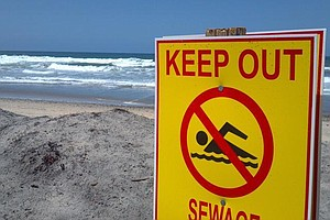 South San Diego County Beaches Closed