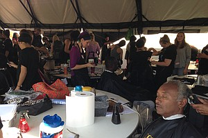 Tease photo for 975 Homeless Veterans Get Help At San Diego's Stand Down