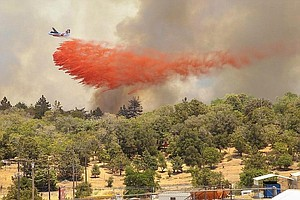 Tease photo for U.S. Forest Service, San Diego County At Odds Over Air Tankers