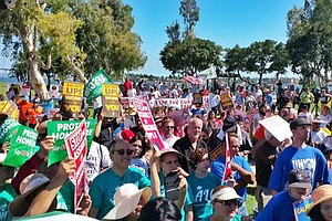 Conservative ALEC Conference Opens In San Diego Amid Prot...