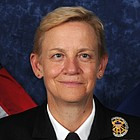 A graduate of Vanderbilt University, Vice Adm. Nora Tyson earned her wings in 1983 and served three tours at Naval Air Station Patuxent River, Maryland, and Tinker Air Force Base, Oklahoma.