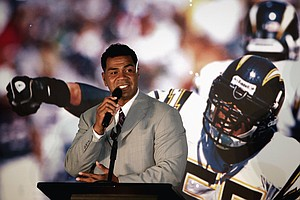 Tease photo for Hall Of Fame Bars Junior Seau's Daughter From Comments