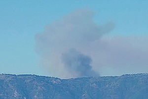 Tease photo for Brush Fire Near Palomar Mountain Burns 170 Acres