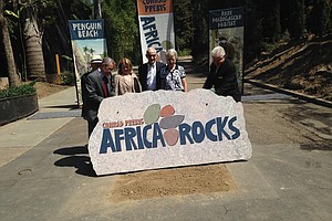 Tease photo for San Diego Zoo Breaks Ground On $68M Africa Exhibit