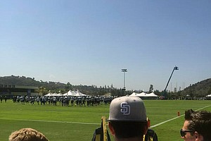 Chargers Open Training Camp With Public Practice
