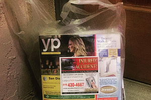 Tease photo for Some San Diegans Wonder, Can You Stop Phone Book Deliveries?