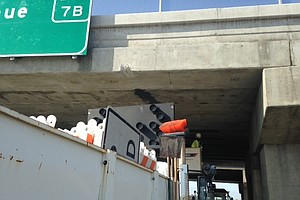 Tease photo for Delays Possible As Crews Repair Kearny Mesa Freeway Overpass
