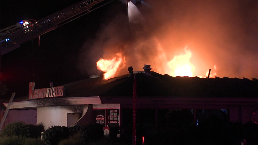 Fire Causes 1 5m In Damage To K Sandwiches In Linda Vista