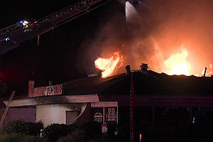 Tease photo for Fire Causes $1.5M In Damage To K Sandwiches In Linda Vista