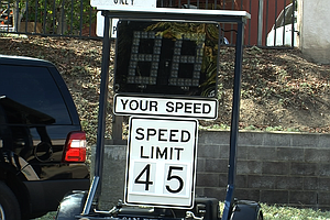 New Speed Trailers Remind San Diego Drivers To Slow Down