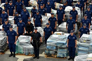 Tease photo for U.S. Coast Guard Announces Record Maritime Cocaine Seizures