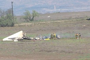 Investigation Underway Into Mid-Air Collision Near Otay Mesa