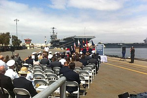 Navy, San Diego Energy Execs Celebrate Solar Deal