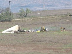 Otay Mesa Plane Crash Investigators Talk To Witnesses
