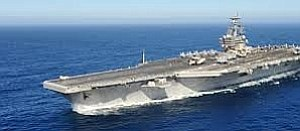 Tease photo for Carrier USS Ronald Reagan Leaves San Diego, Bound For Japan