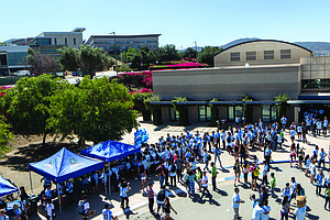 Tease photo for Record Number Of Students Set To Start Classes At Cal State San Marcos