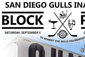 Tease photo for San Diego Gulls To Host Summer Block Party