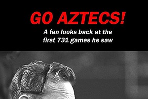 Aztecs Super Fan Cheers On Team for 758th Straight Game