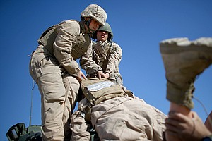 Marine Corps Study Finds All-Male Combat Units Faster Tha...